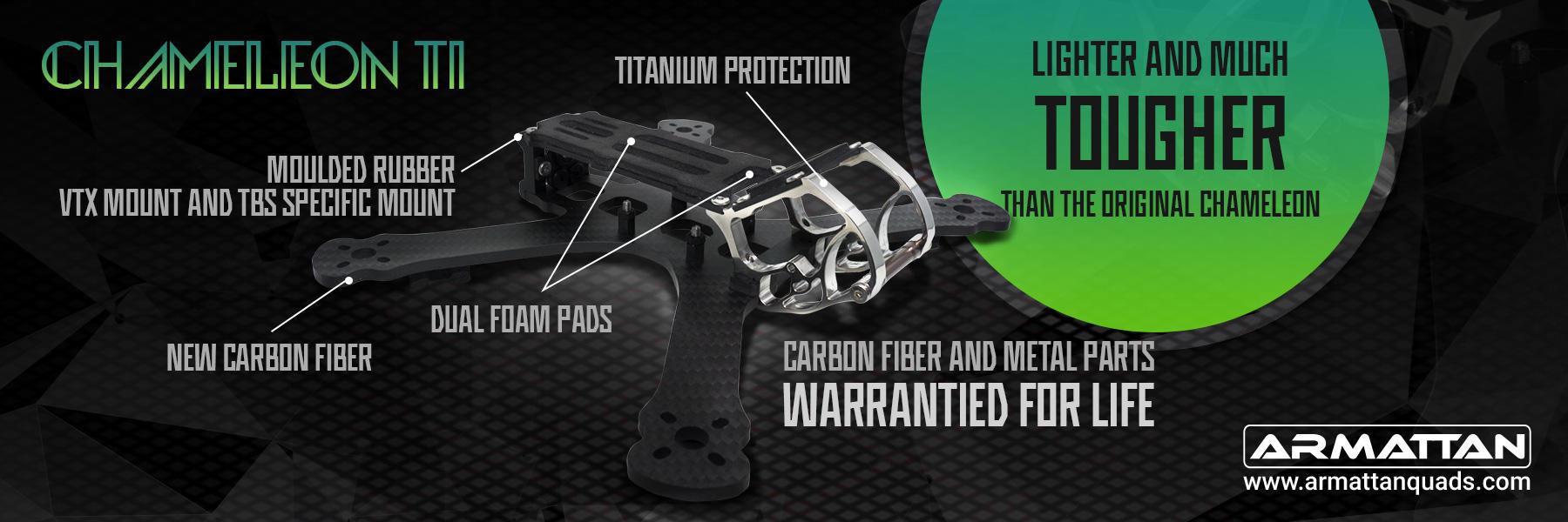 Armattan Chameleon TI Frame Kit