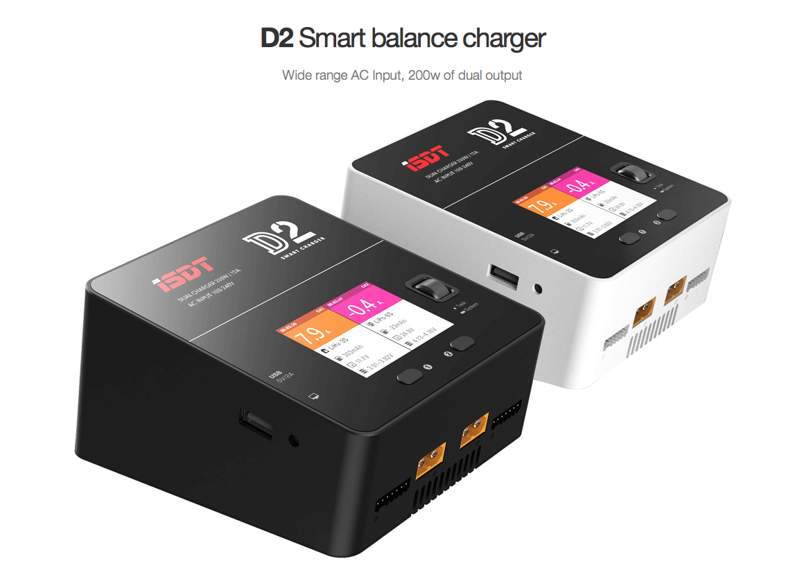 ISDT D2 Smart Balance Charger Pic 1