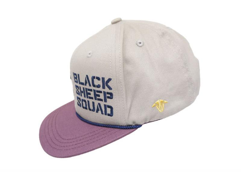 282c33dd927 TBS Black Sheep Squad Cap Purple   Beige - Quadcopters.co.uk