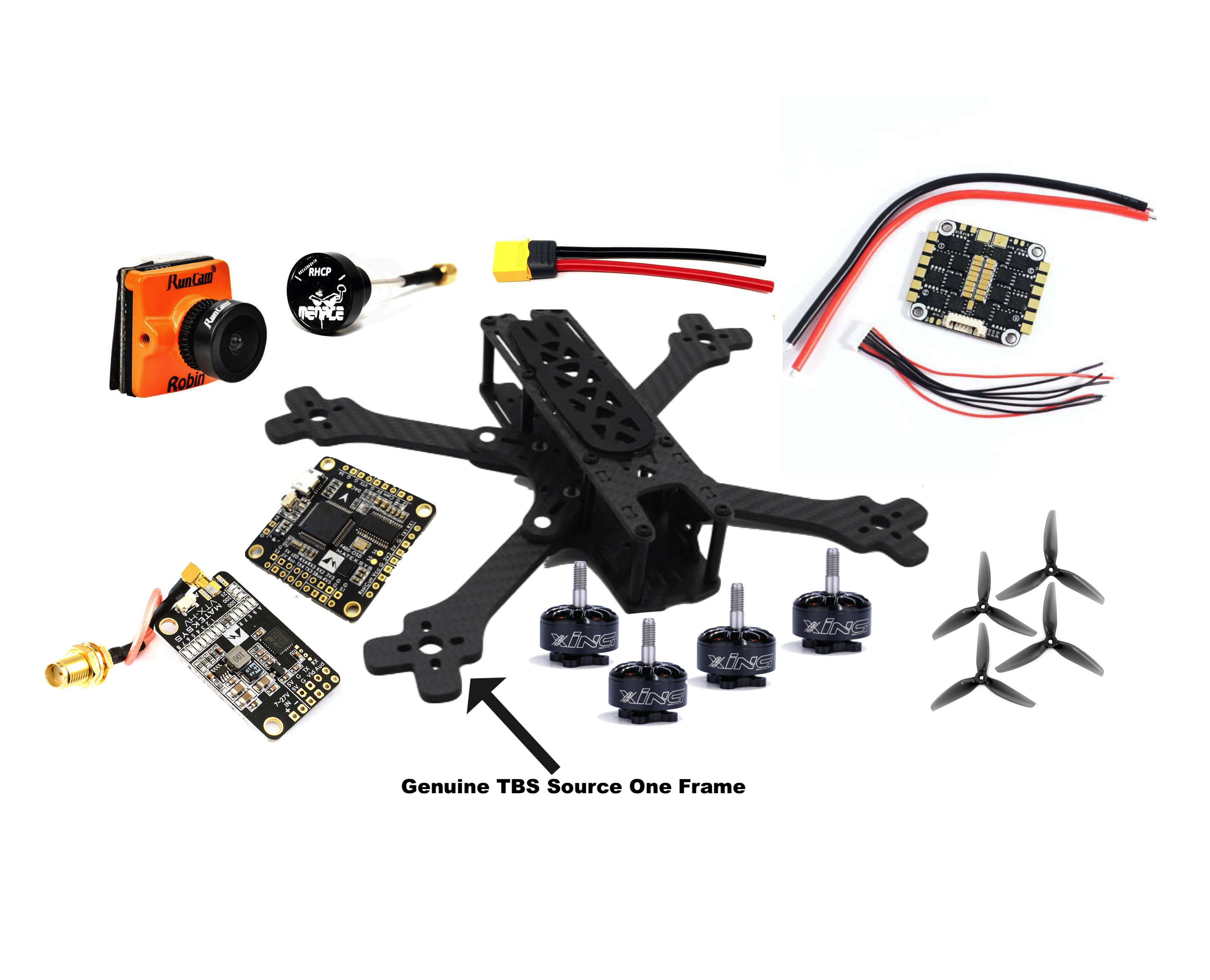 Build your own FPVSource Quadcopter
