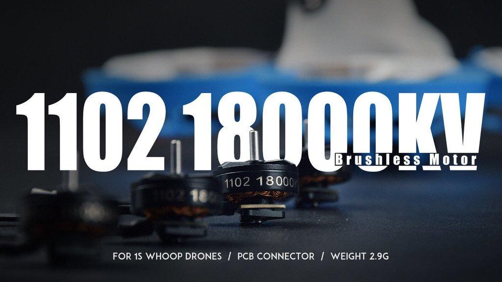 BetaFPV 1102 18000kv Brushless Motor
