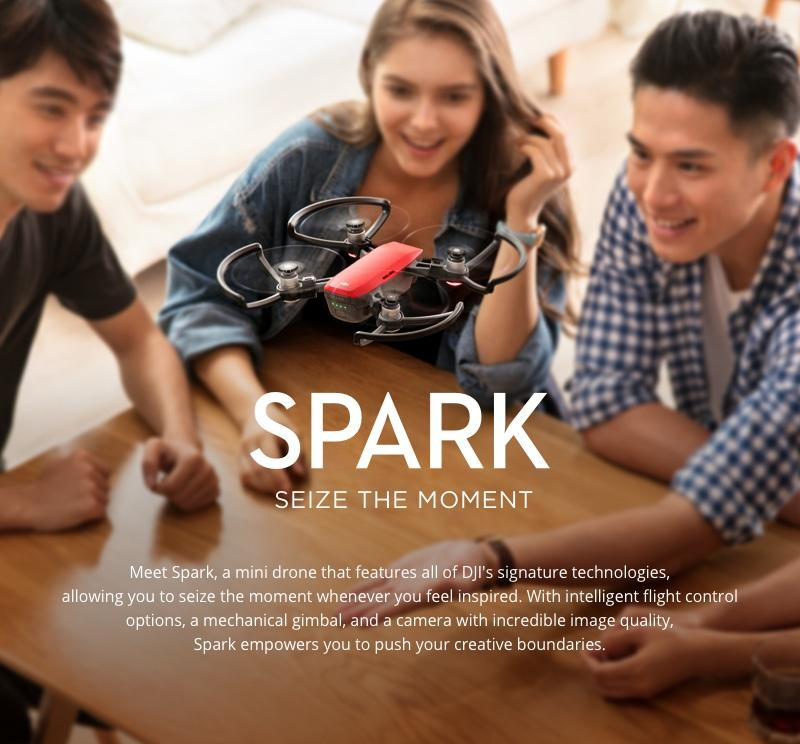 DJI Spark mini drone UK Stock - Quadcopters.co.uk