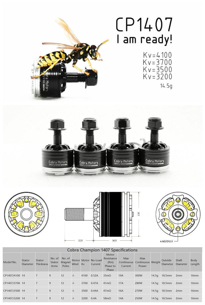 Cobra CP1407 3700KV UK