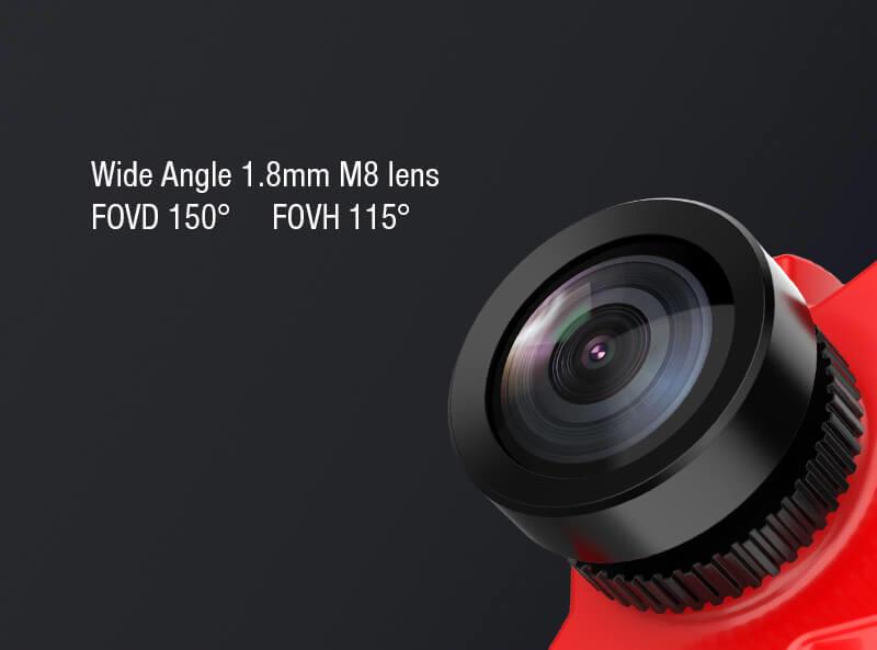predator micro fpv camera lens size.