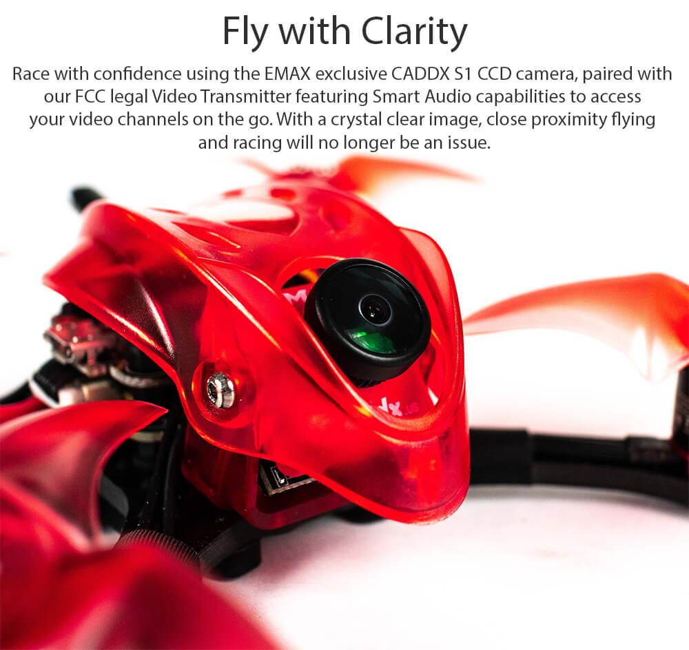 Babyhawk R Pro with Caddx S1 CCD Camera
