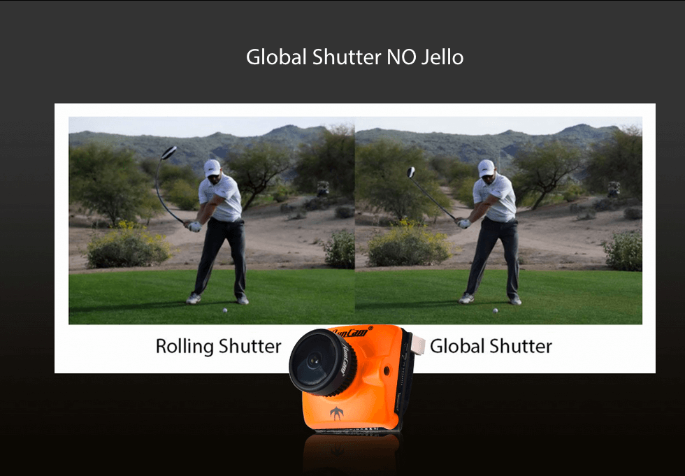 runcam micro swift 3 v2 no jello global shutter