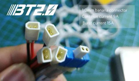 BT2.0 Connector for more power and burst current