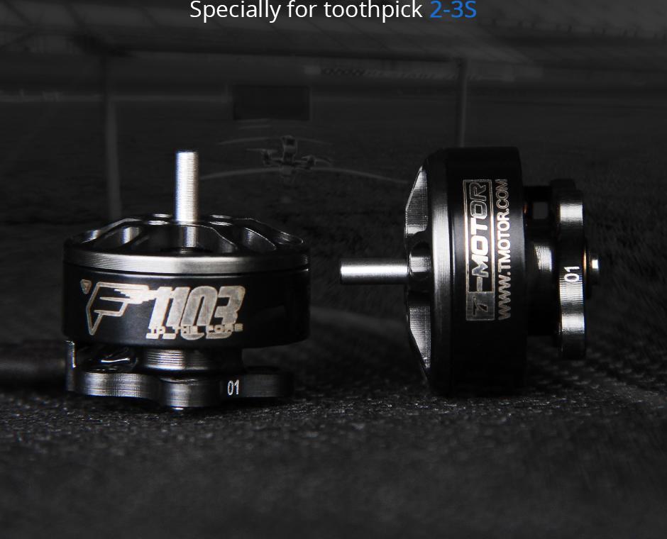 Toothpick motors F1103