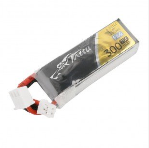 Tattu 300mAh 2S 75C 7.6V Lipo Battery JST-PHR