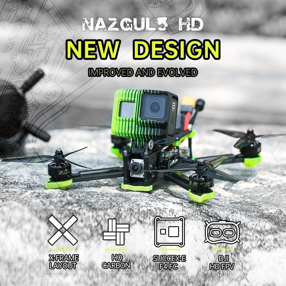 Nazgul 5 HD by iflight information