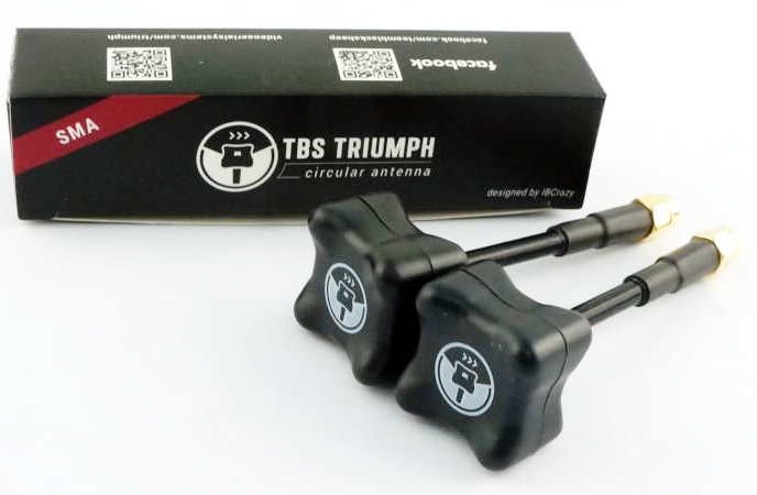 TBS Triumph 5.8Ghz FPV Antenna very popular with Drone Racing