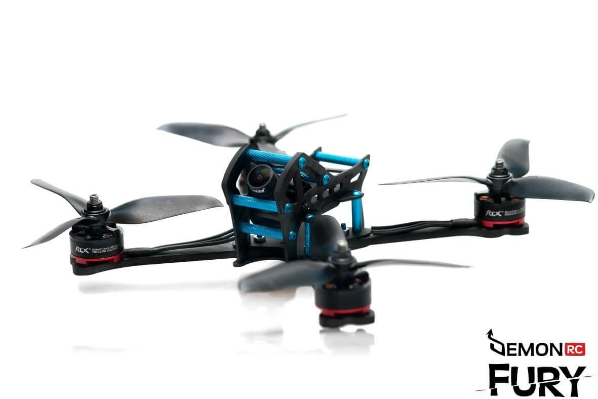 DemonRC FPV Kits and Frames UK and Europe such as Fury and nox5