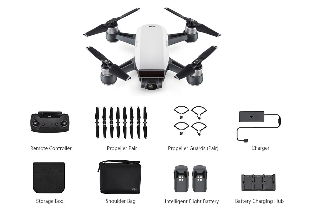 DJI Spark FLY More Combo Official UK Store