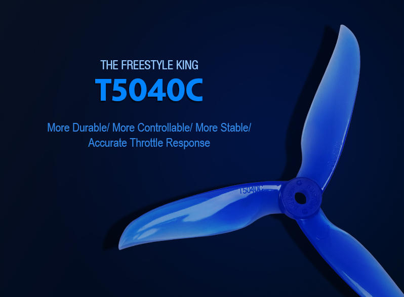 DAL Prop T5040C Freestyle propellers props for racing drones uk