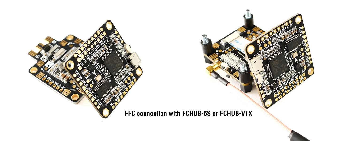 how to connect the flight controller to pdb