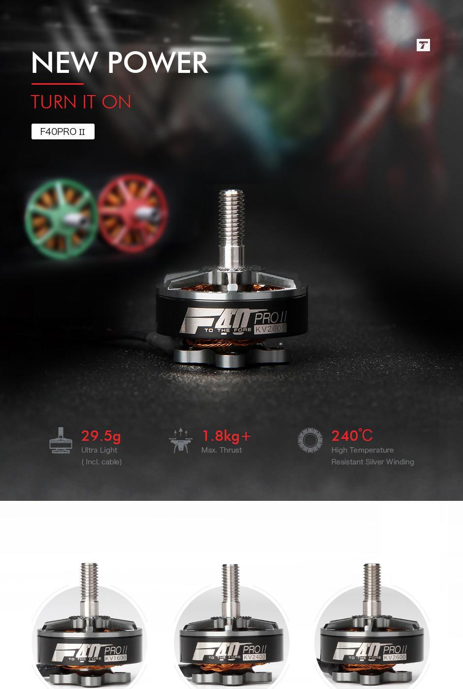 T-Motor F40 Pro II FPV Racing Motors
