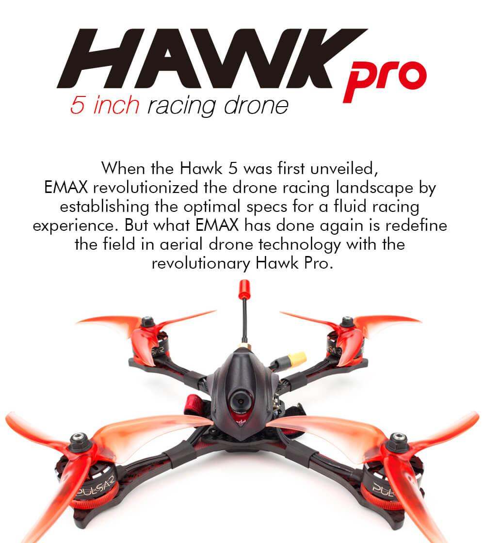 revolutionary hawk pro racing drone