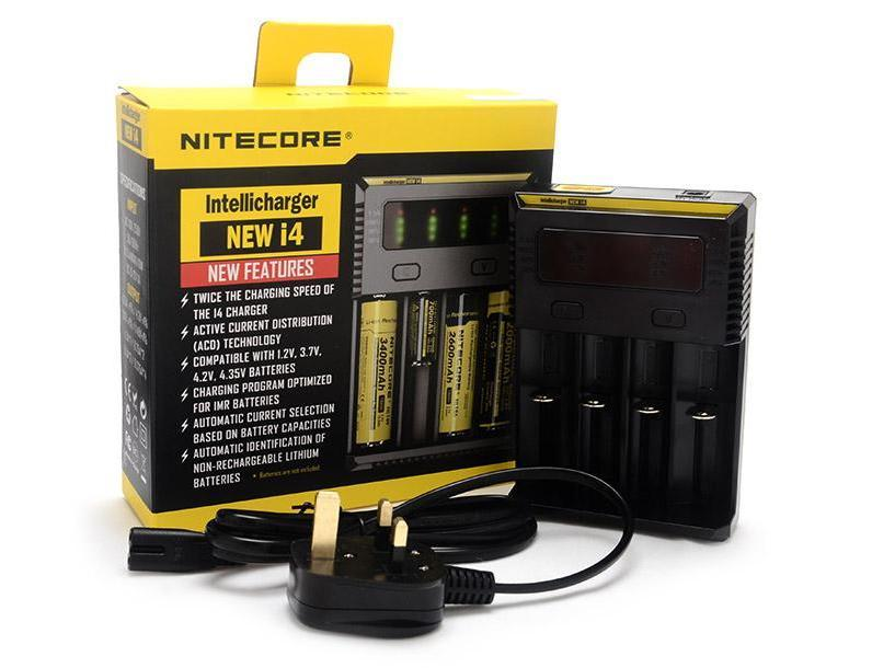 Whats included with the Nitecore NEW i4