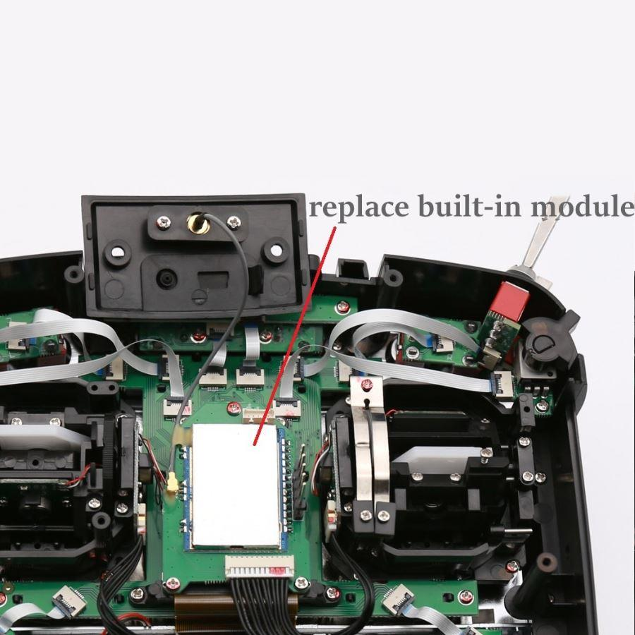 Jumper T16 4 in 1 New internal module how to fit