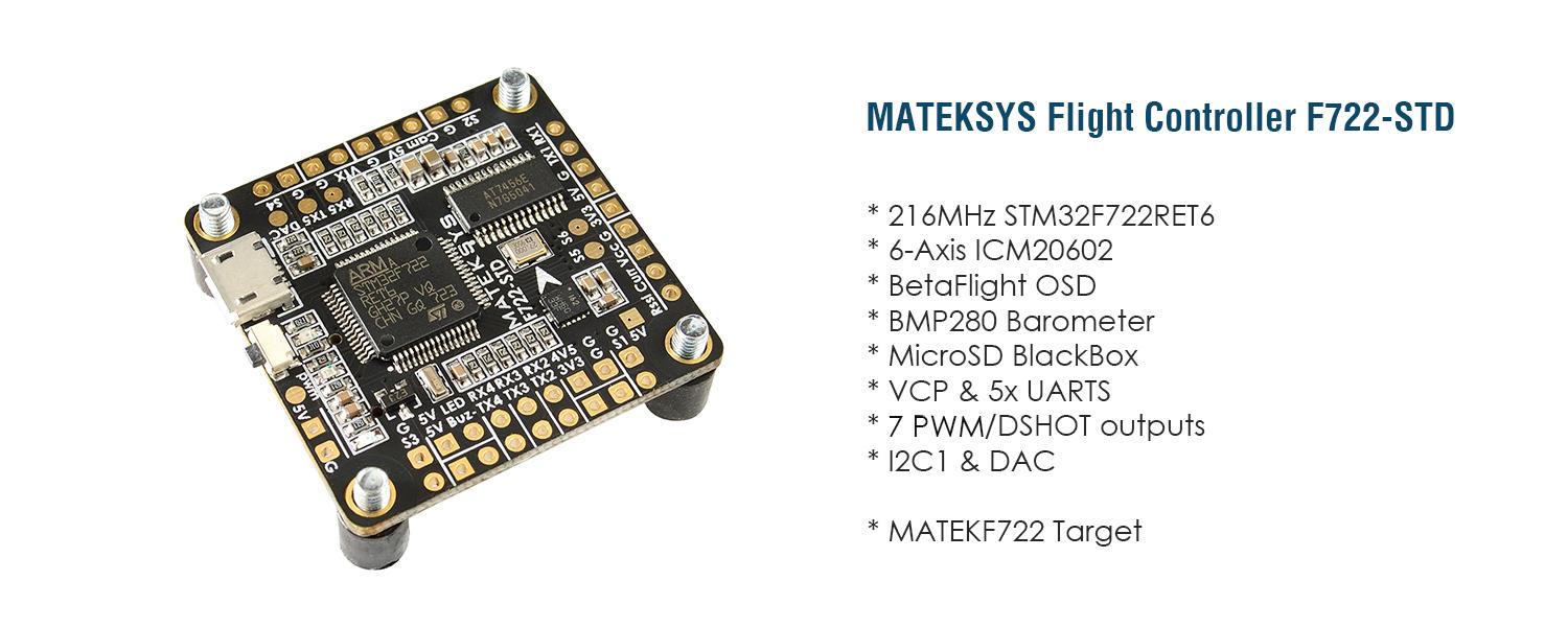 Matek Flight controller F722