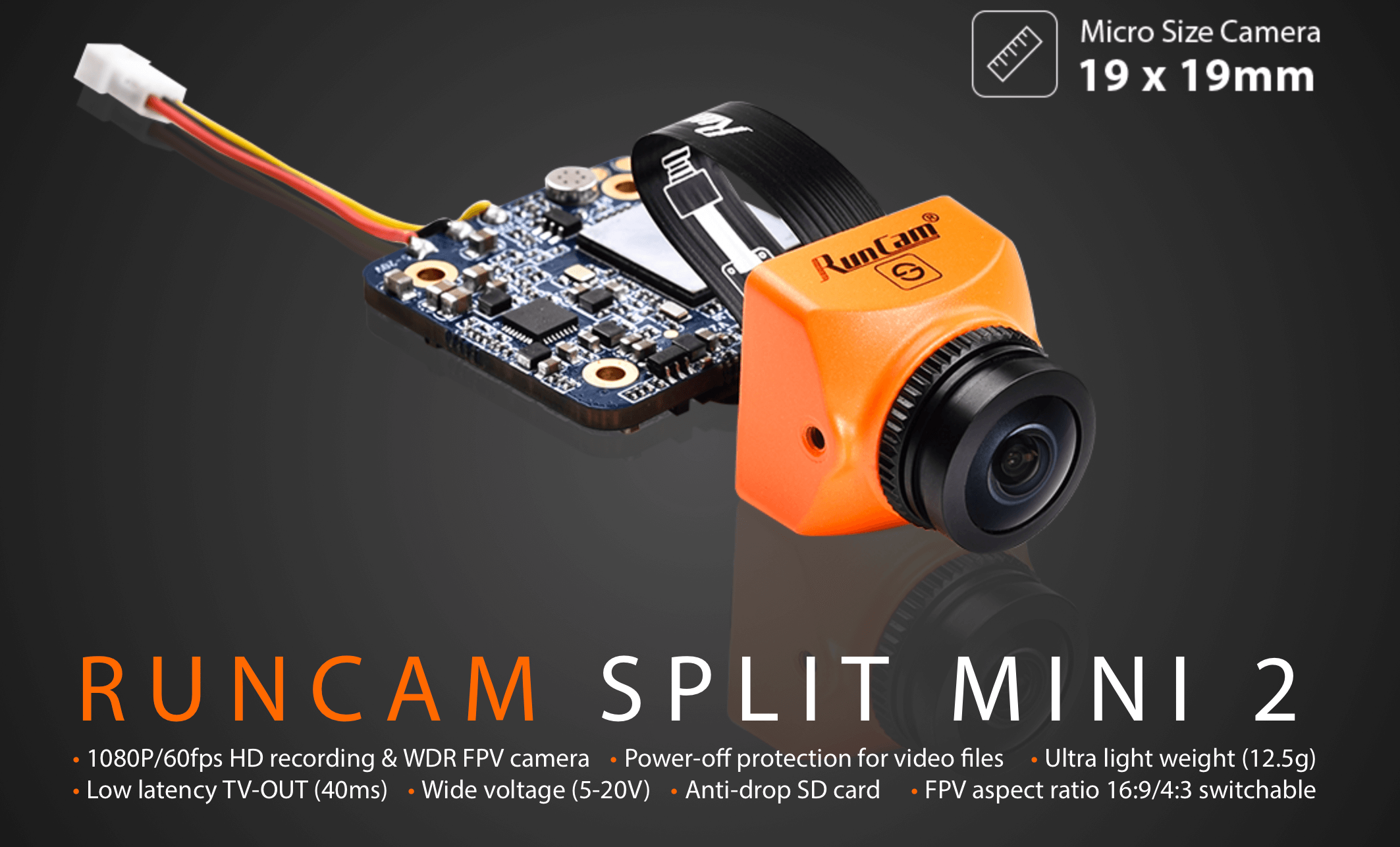 Runcam split mini 2 M12 latest version