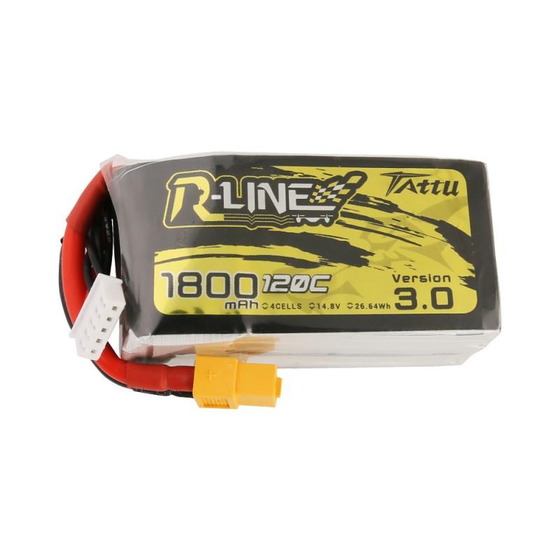 Tattu R-Line Version 3.0 1800mAh 14.8V 120C