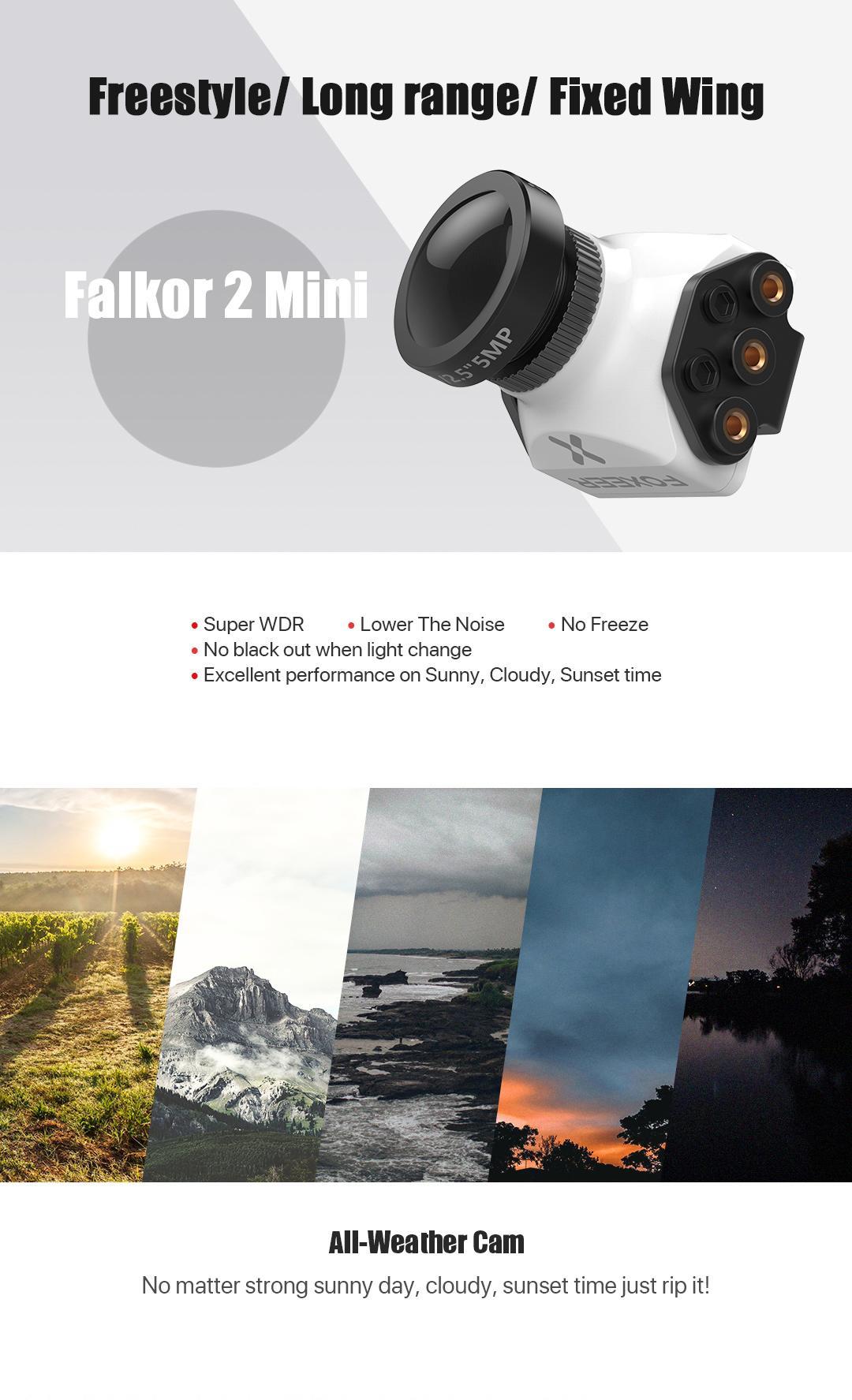 Falkor 2 mini fpv camera