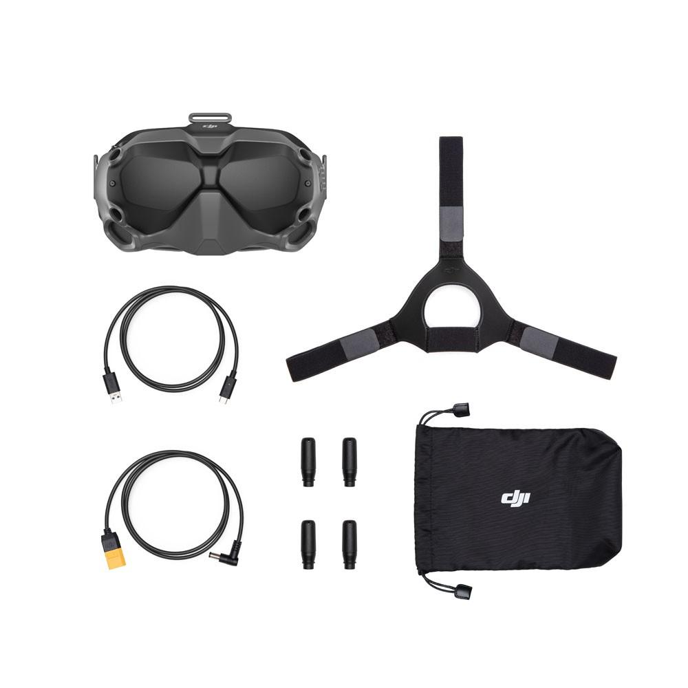 contents of the DJI Goggles bundle
