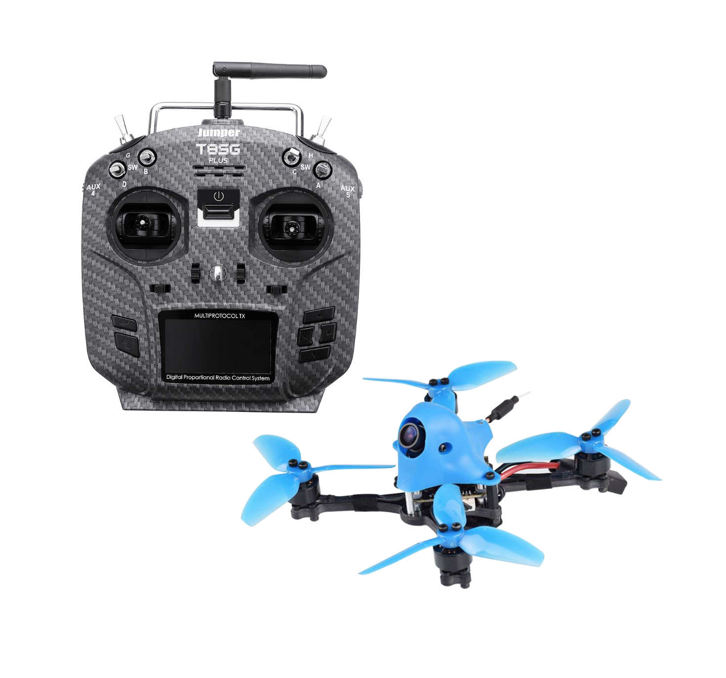 BetaFPV HX115 HD and Jumper T8SG Ready to fly Bundle