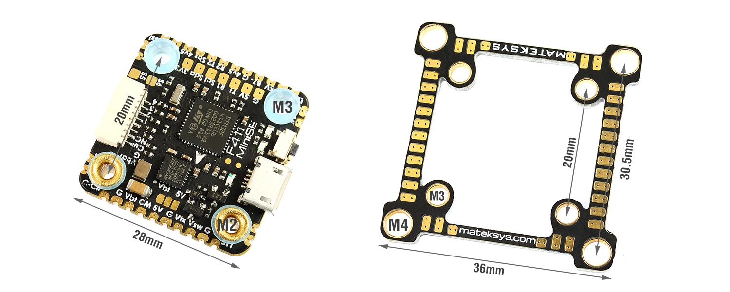 Matek F411-MINI SE FLIGHT CONTROLLER 35mm board