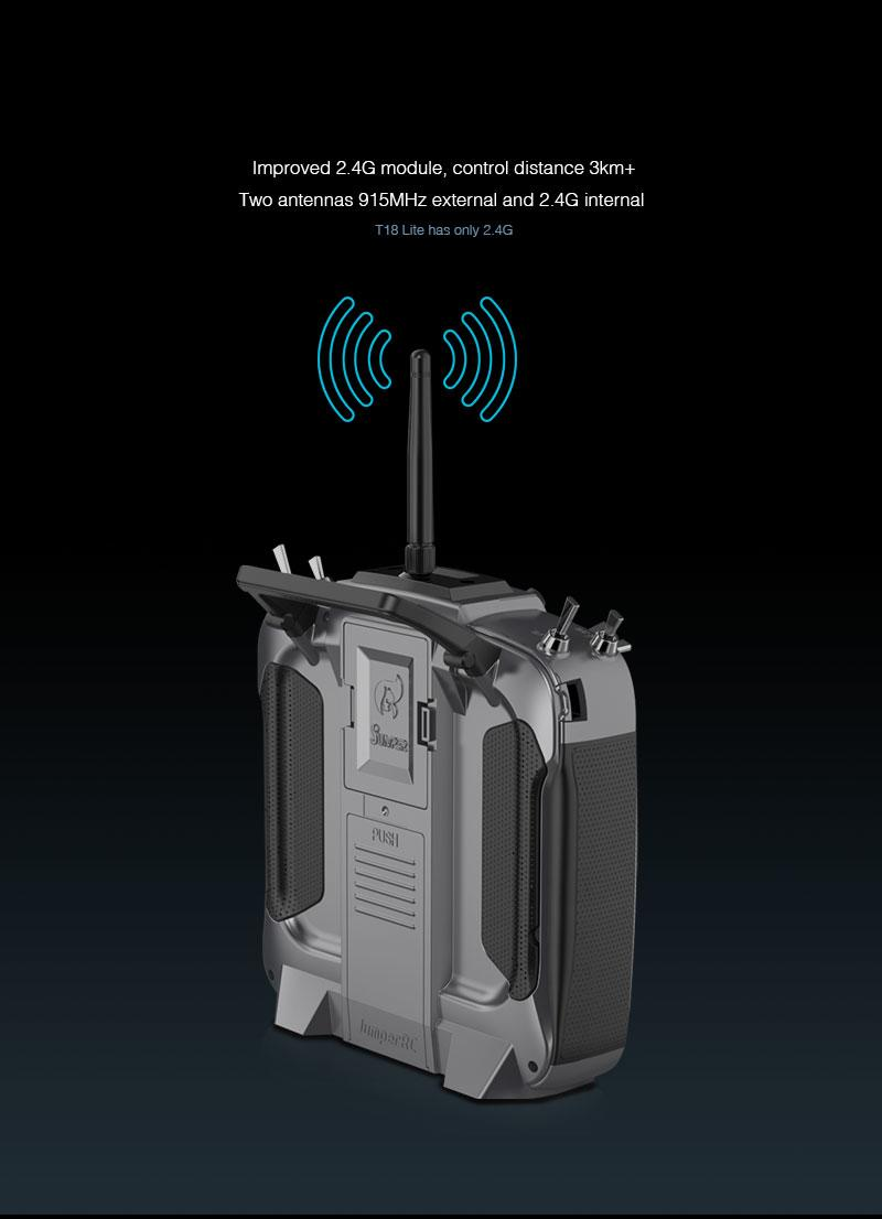 Improved 2.4ghz reception on the Jumper radio Uk