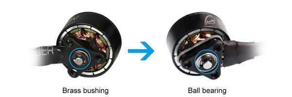 By using the technology of ball bearing, effectively reduced the friction between the bearing surfaces, increased its durability and improved its efficiency.