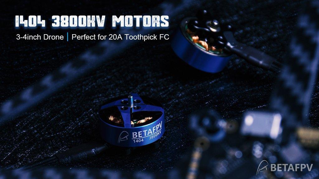 1404 3800KV Brushless Motors