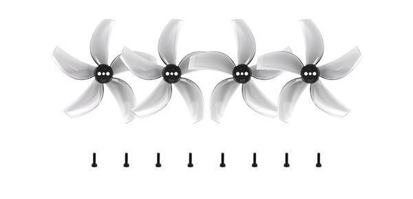 Package 2 * D63 5-Blade Propellers CW 2 * D63 5-Blade Propellers CCW 8 * M2 * 7 Screws
