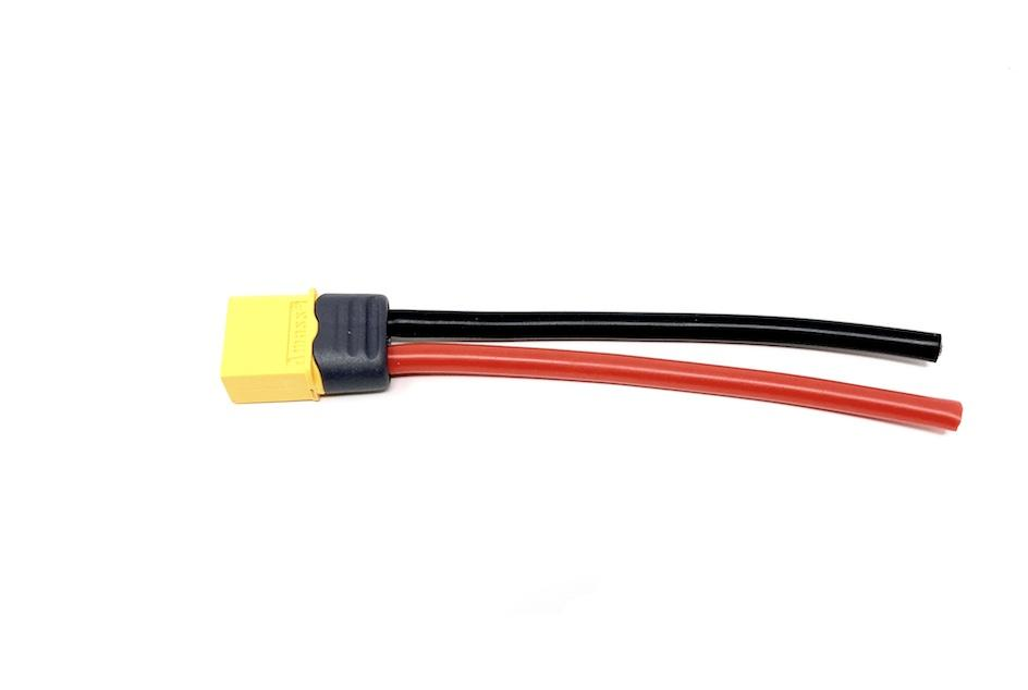 XT60 Male 12 awg pigtail