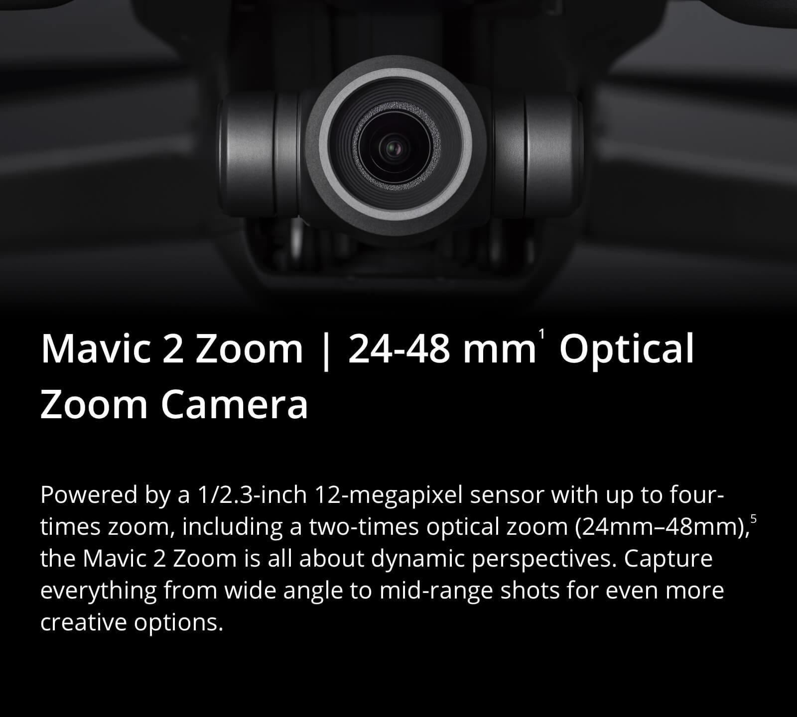 Mavic Zoom Camera specs