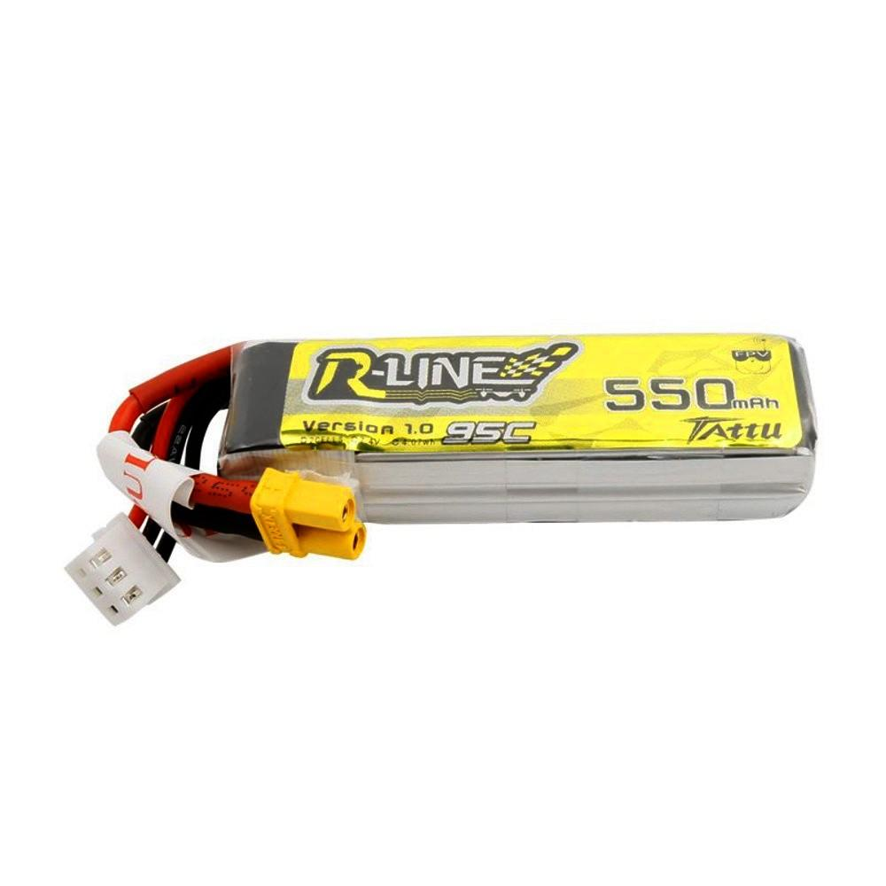 Tattu RLINE 550mah 2s Lipo Battery with xt30