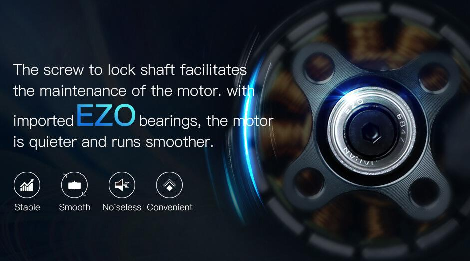 Ezo bearings on the F60 Pro V3 motors