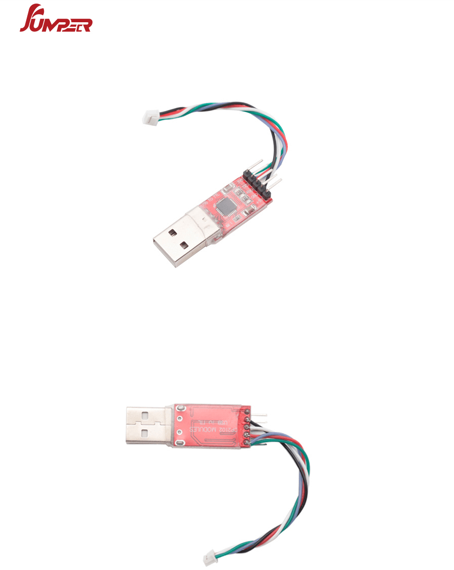 Jumper T16 openTX upgrade USB-to-serial adapter