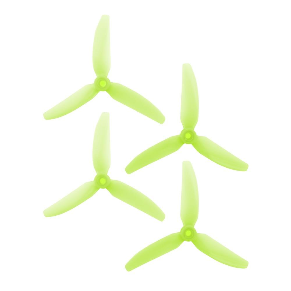 HQ Prop Light Green 5x4.3x3 v1s racing drone propellers