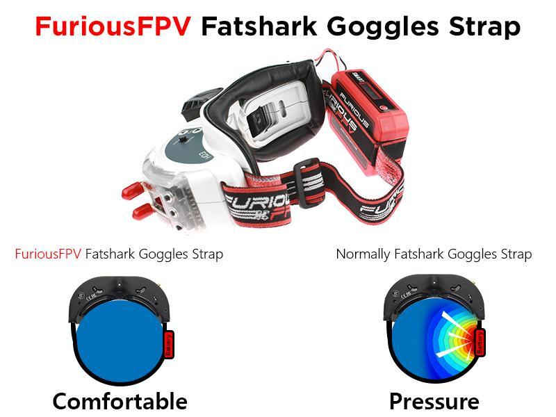 Furious FPV Fatshark goggle strap