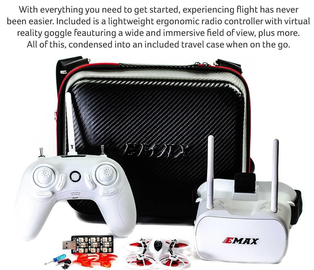 everything you need to get started inc radio and fpv goggles