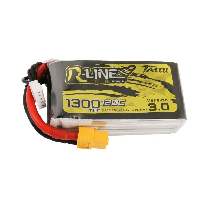 Tattu R-Line Version 3.0 1300mAh 14.8V 120C