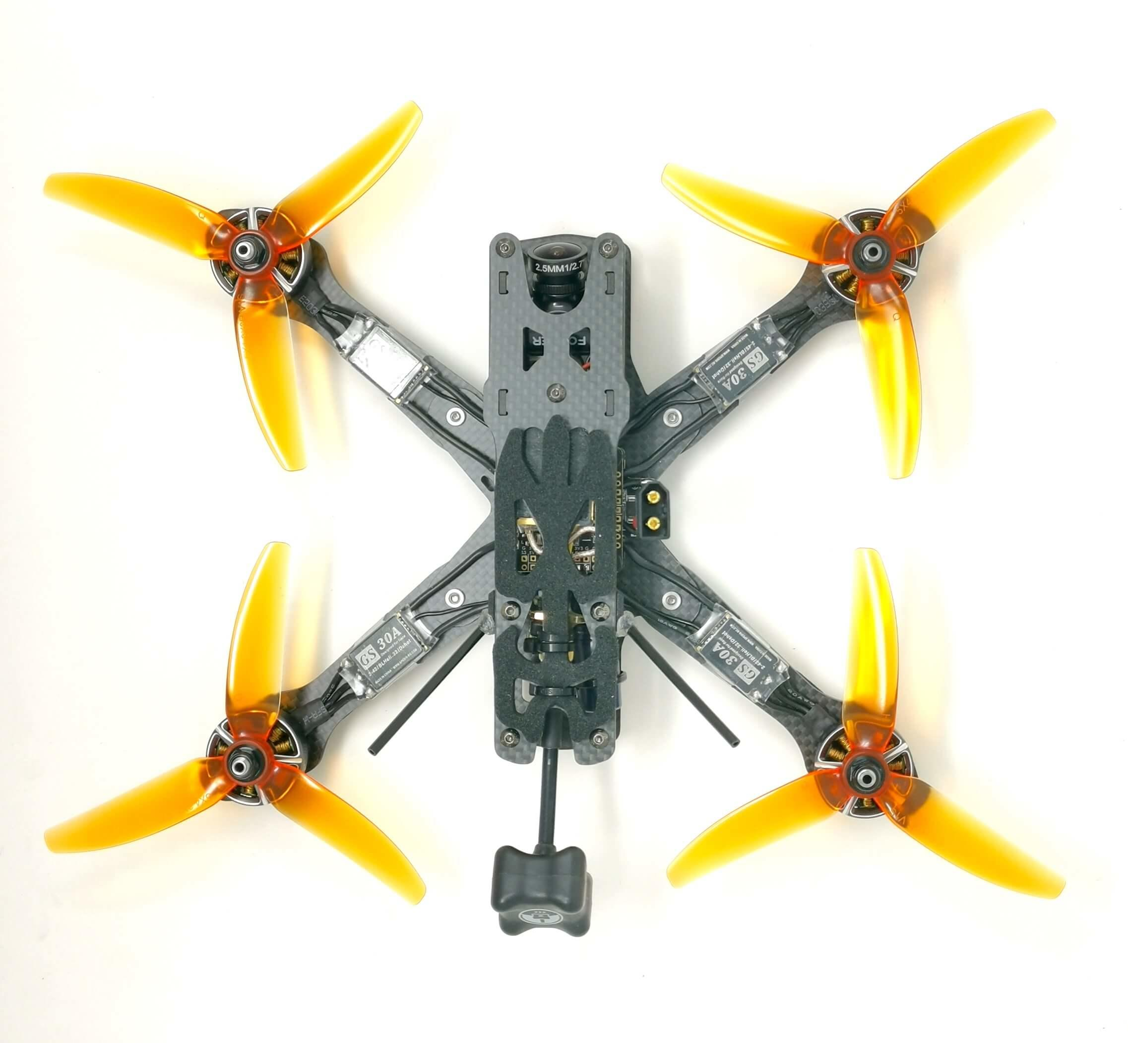 Tom Smith custom fpv drone racing freestyle build Reverb quadcopters.co.uk