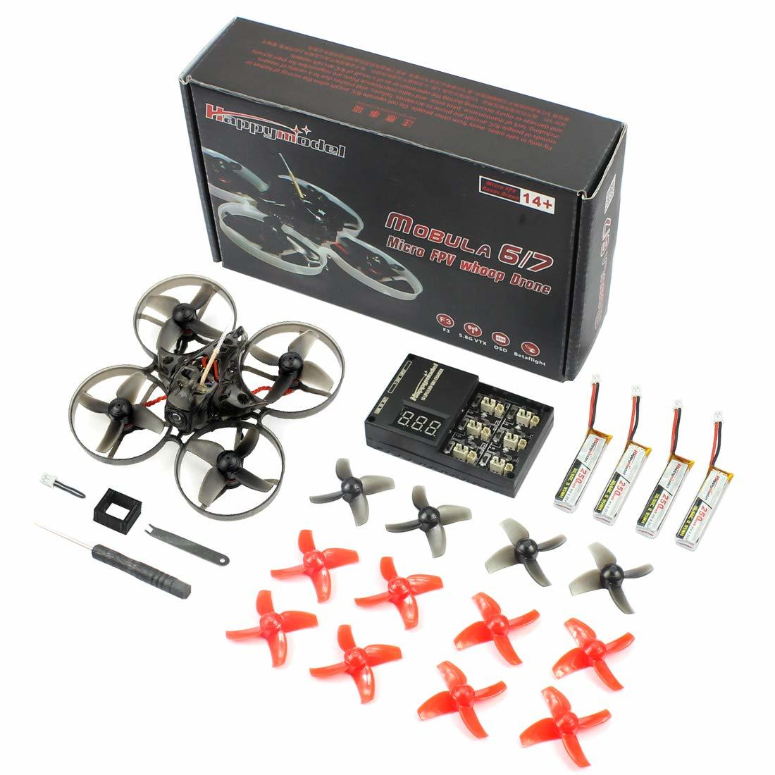 Mobula 7 2s whoop contents UK by Happymodel