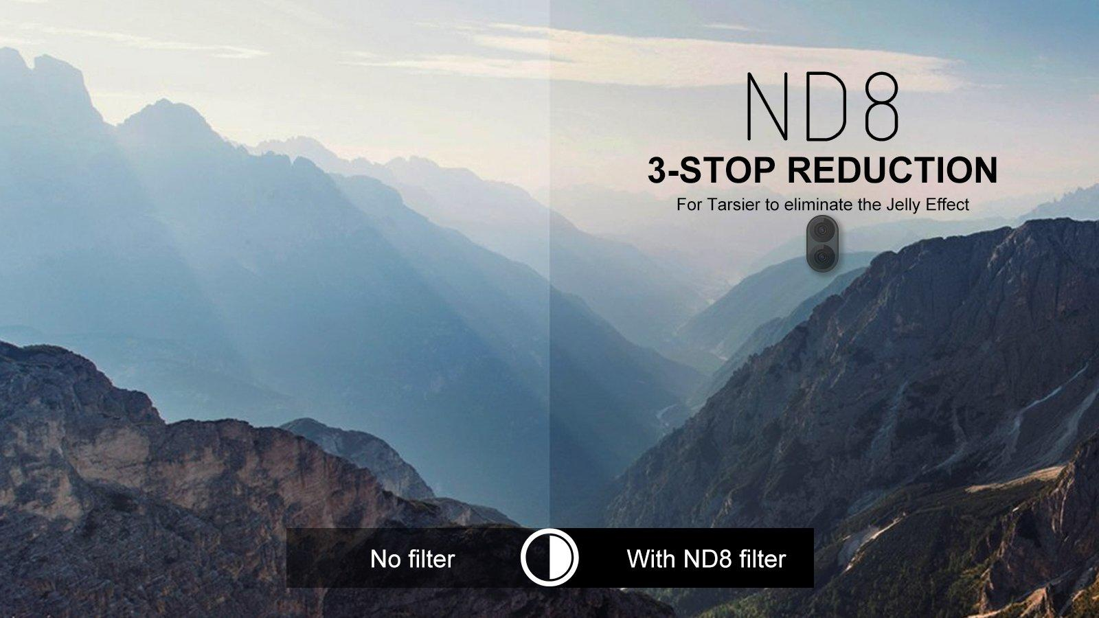 85x 4k nd filter nd8
