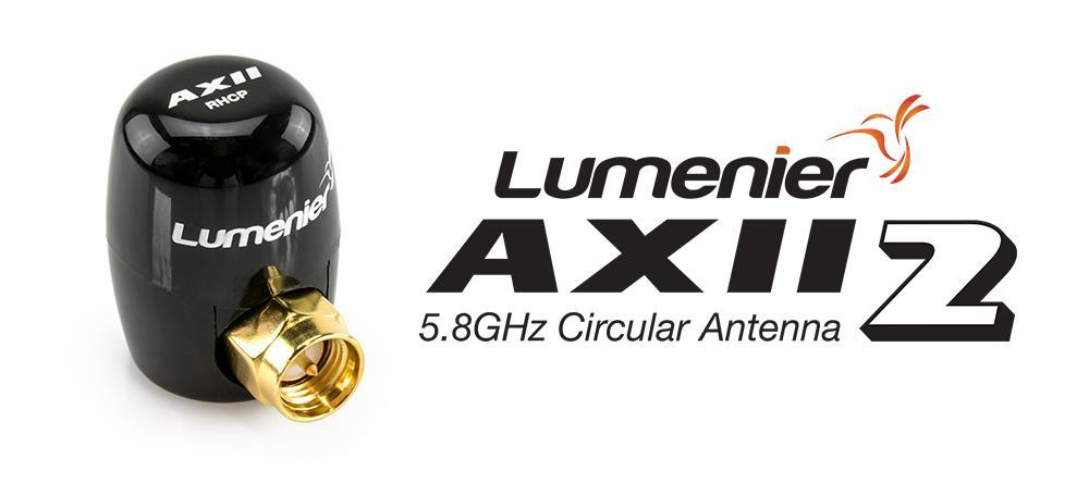Lumenier AXII 2 Right-Angle Stubby 5.8GHz Antenna (LHCP)