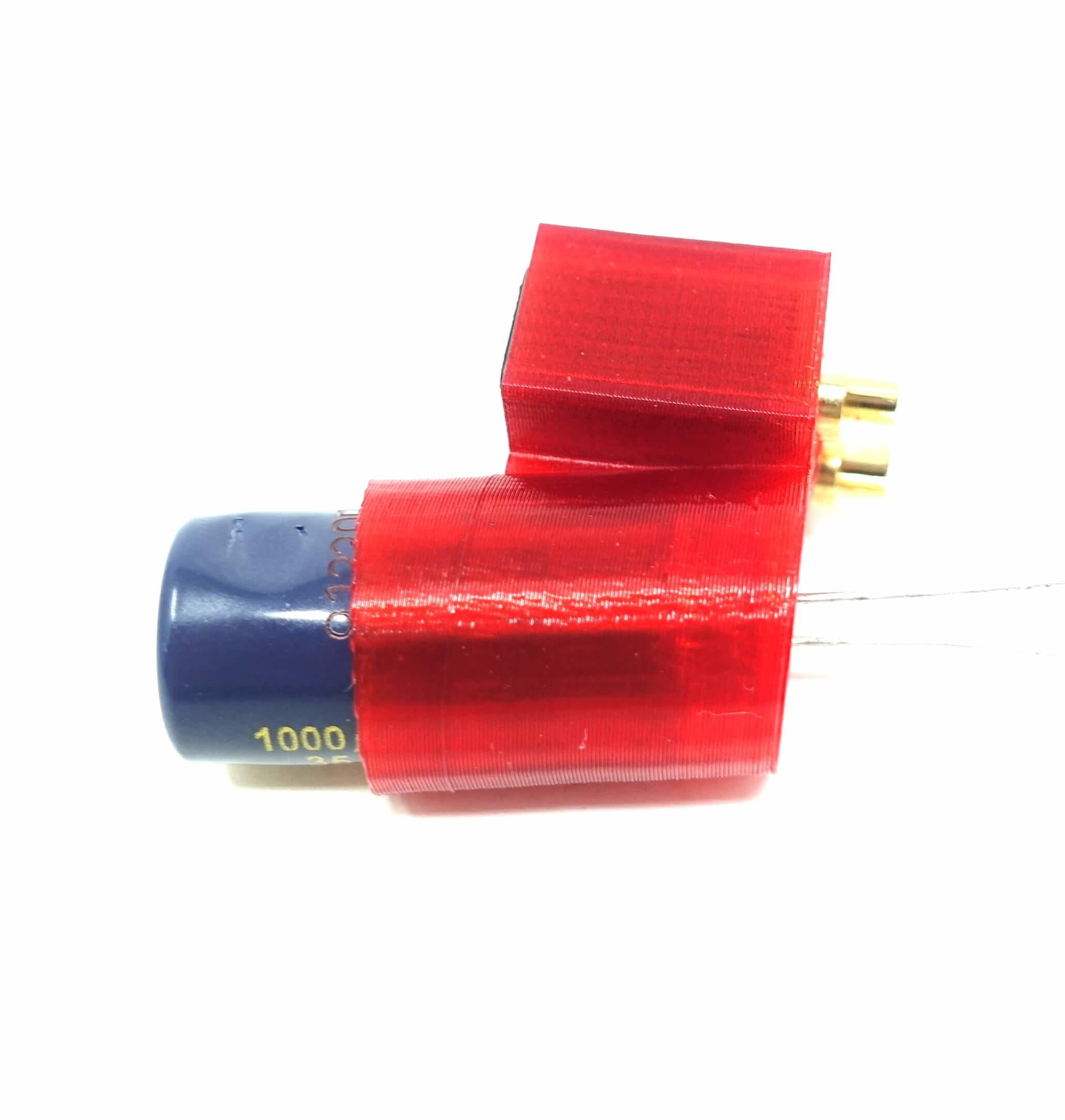 TPU RACING/FREESTYLE DRONE XT60 CAPACITOR HOLDER