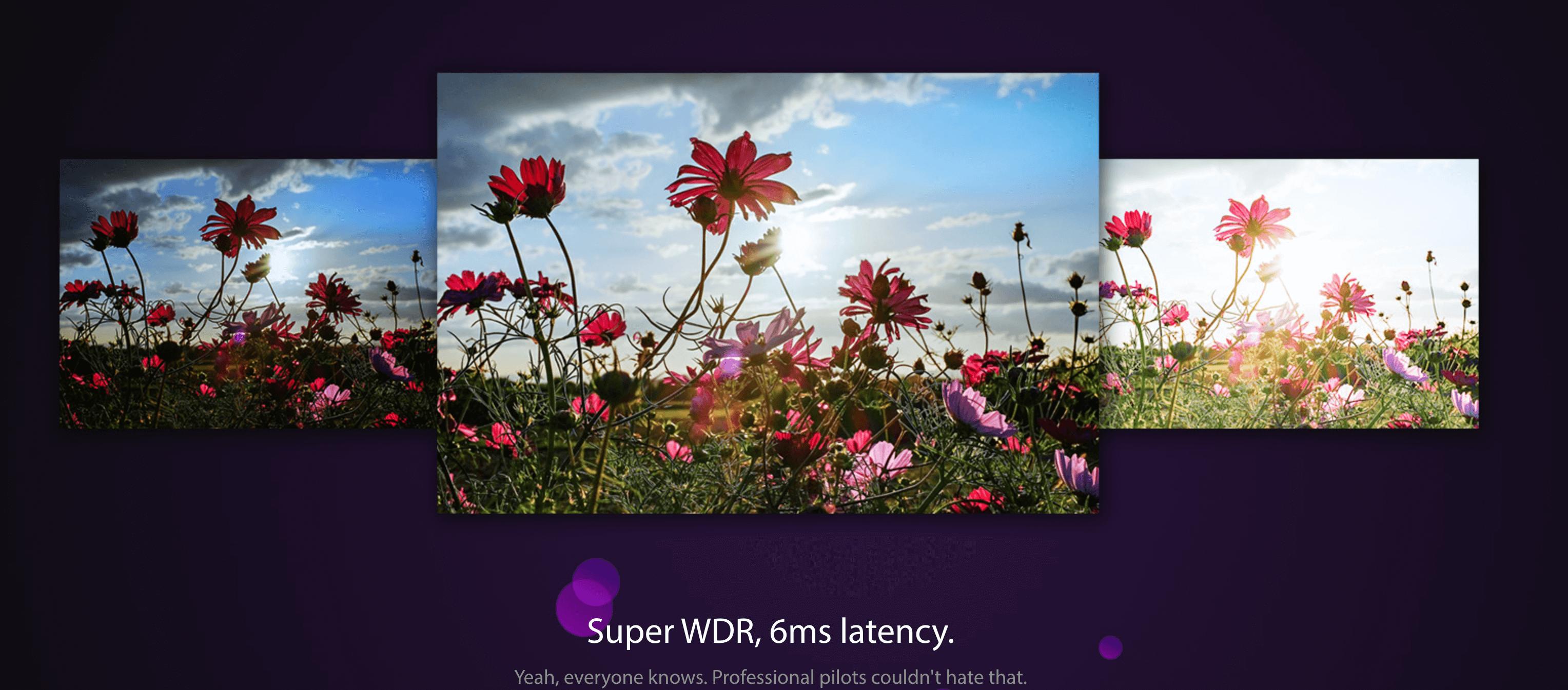RunCam Racer 3 FPV Camera latency