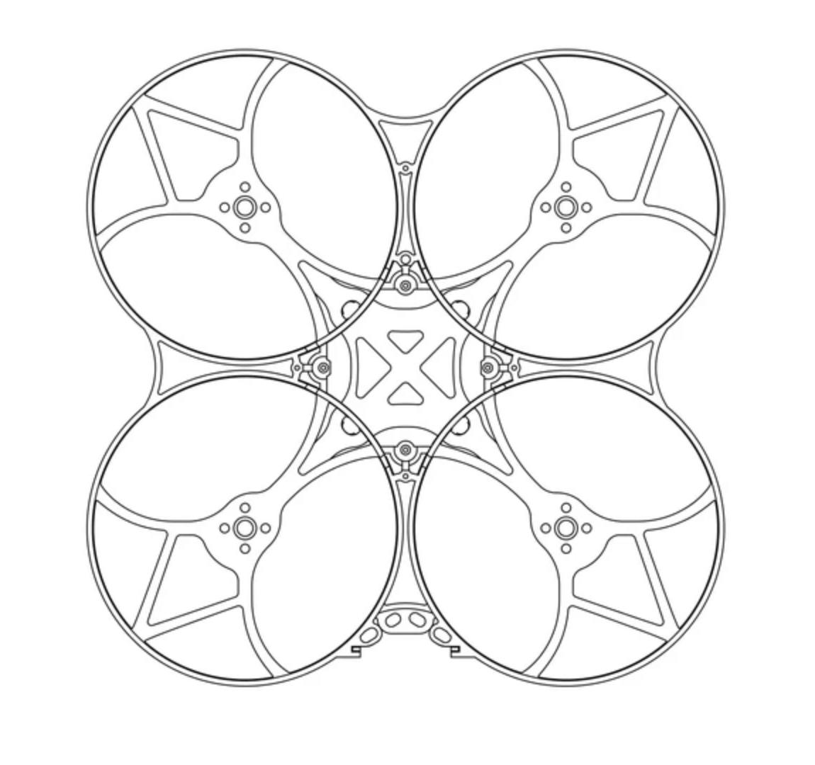 betafpc 95x frame kit diagram